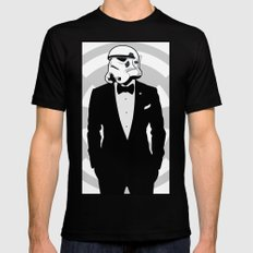 Slick Trooper Black MEDIUM Mens Fitted Tee