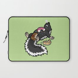 Skunk Funk Donuts Only Laptop Sleeve