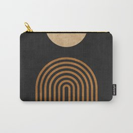 Midnight Jazz - Minimal Geometric Abstract - Black 1 Carry-All Pouch