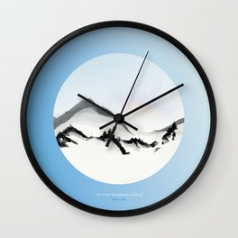 [4.15—4.19] The First Rainbows Appear Wall Clock
