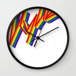 Kylie Pride Wall Clock
