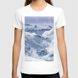 Snowy Mountains and Glaciers T-shirt