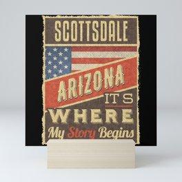 Scottsdale Arizona Mini Art Print