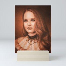 Cheryl from Riverdale Mini Art Print