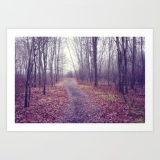 lead me home Art Print