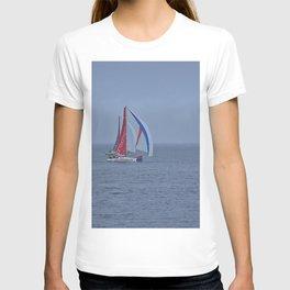 part 2 of 4 of Sailing Battle 42-56  - Transat Quebec St-Malo T-shirt