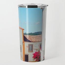 Obidos, Portugal (RR 177) Analog 6x6 odak Ektar 100 Travel Mug