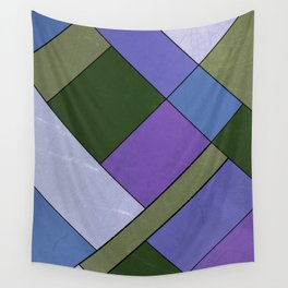 Abstract #814 Wall Tapestry