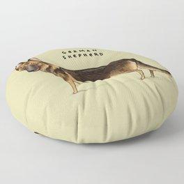 German Shepherd Floor Pillow
