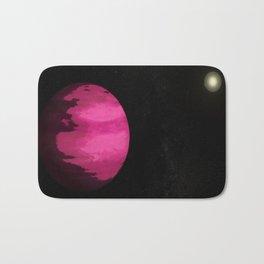 Pink Planet : gaLAXY Bath Mat