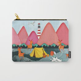 Lighthoue and the boat Carry-All Pouch