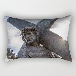 Mission San Luis Rey De Francia Rectangular Pillow