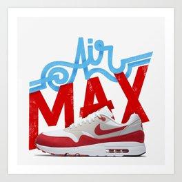 OG Kicks Series | Air Max Art Print