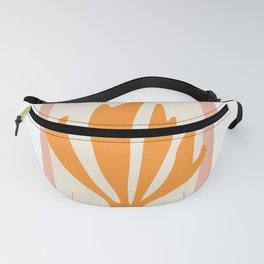 Henri matisse the cut outs contemporary, modern minimal art Fanny Pack