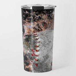 Baseball print work vs 5 Travel Mug