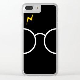 Potter Glasses - Harry Magic Design Clear iPhone Case