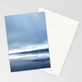 Soft winter sky Stationery Cards
