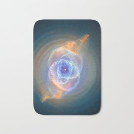 Cat's Eye Nebula Bath Mat