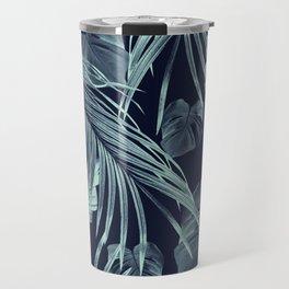 Tropical Jungle Leaves Dream #9 #tropical #decor #art #society6 Travel Mug