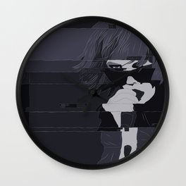 Alice Glass / Crystal Castles Wall Clock