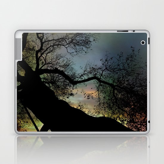 Night Fall by The Tree Laptop & iPad Skin