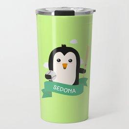 Baseball Penguin from SEDONA T-Shirt for all Ages Travel Mug