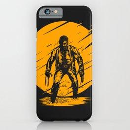 Logan Yellow Art iPhone Case