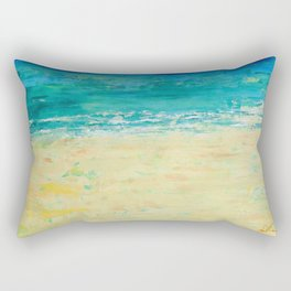 Get to the Beach! Rectangular Pillow