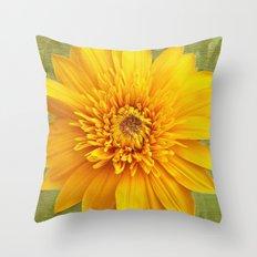 Sunshine Smile Throw Pillow