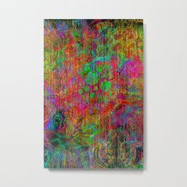Space Ether Metal Print