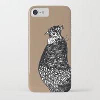 chicken iPhone & iPod Cases featuring Chicken  by Aubree Eisenwinter