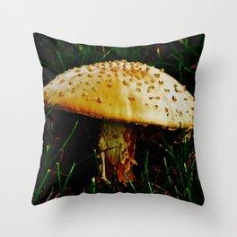 Shroomin' Throw Pillow