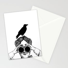 Where's that bird?! - humor Stationery Cards