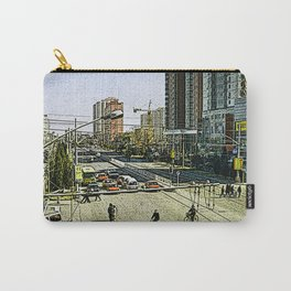 Life in Peking (Cartoon-Art) Carry-All Pouch