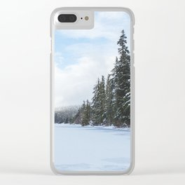 Frozen Over Clear iPhone Case