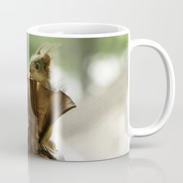 red squirrels in shoes Coffee Mug