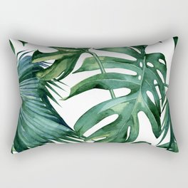 Simply Island Palm Leaves Rectangular Pillow