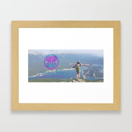 Freedom Flow Mug Framed Art Print