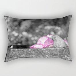 Stone Bird Rectangular Pillow