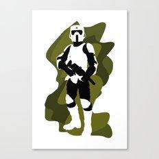Scout Trooper Canvas Print
