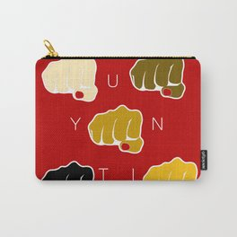 Unity - End Racism Carry-All Pouch
