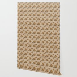 Swirly Leopard Wallpaper