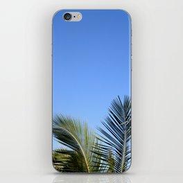 Palm Tree Sky iPhone Skin