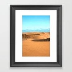 The desert 1.4 Framed Art Print