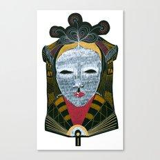 Black MASK Canvas Print