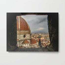 Climb up the Duomo. Florence, Italy. Metal Print