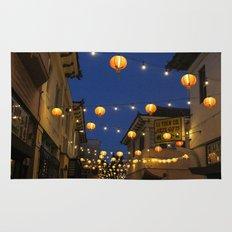 Chinatown Lanterns in L.A. Rug