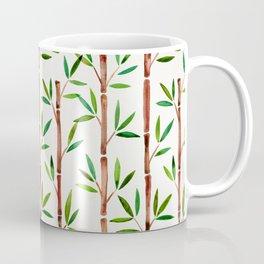 Bamboo Stems – Green Leaves Coffee Mug