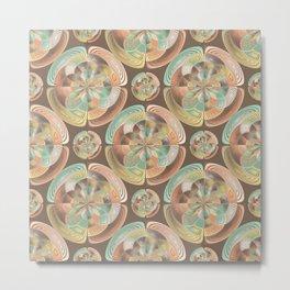 Complex geometric pattern Metal Print