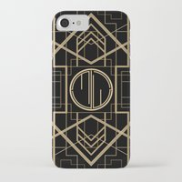 great gatsby iPhone & iPod Cases featuring MJW- GREAT GATSBY STYLE by MATT WARING